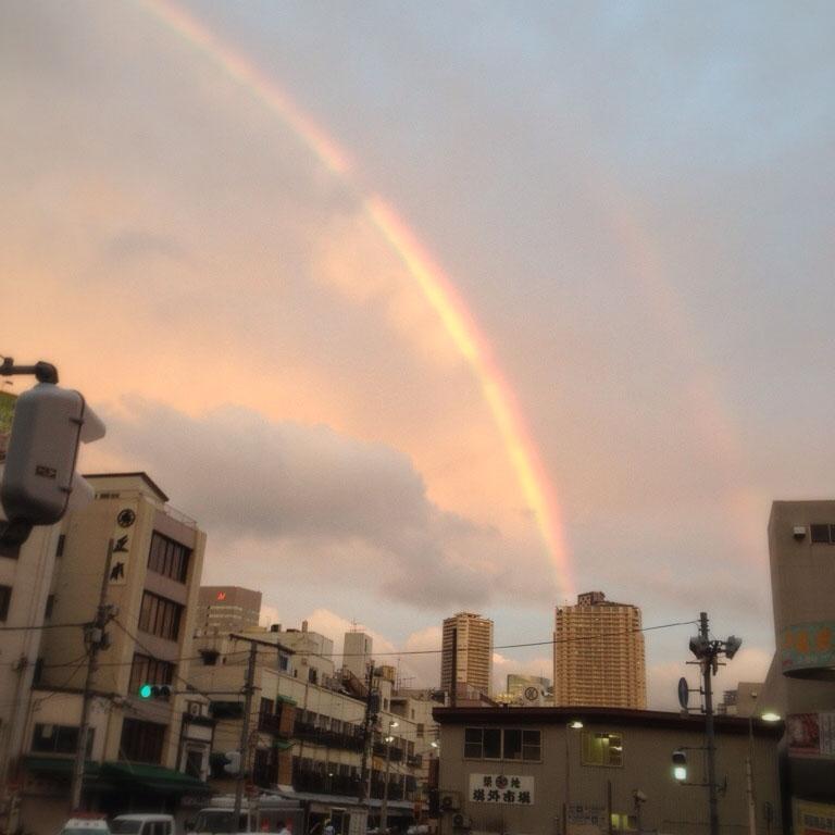 虹がみたいです